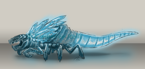 Quartz Burrower by Whisperspirit
