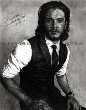 KIT HARINGTON by BOYKINS