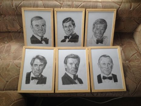 My Bond Collection by Jasman71