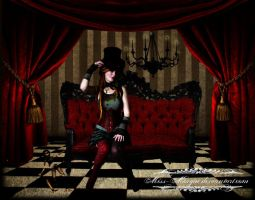 Lair of the Mad Hatter by Miss-Morgue