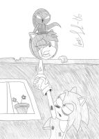 Don't let go, Sonic... by Limpurtikles