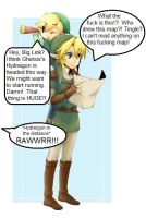 LoZ:  I think we're lost... by Wh1teW01f28