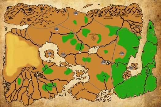 The map for my DnD 4th campaign by DARTHHELMET-1010