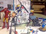 Gunpla gone horribly wrong by KaizerLagann1987