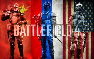 Flag BF4 Support Wallpaper by MisterMasada