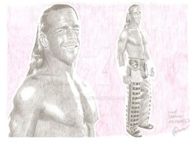 Shawn Michaels by eazy101