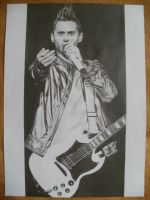 jared leto d by ksiyha