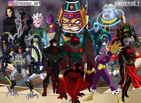univese 1 all hydra villains warriors by nissimaharonov