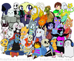 Welcome to Undertale by VickyViolet
