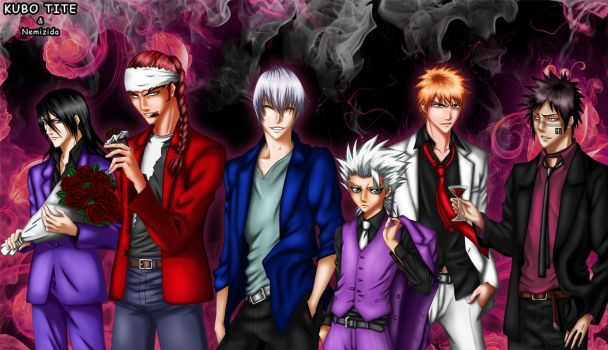 Bleach Boys by Nemizida