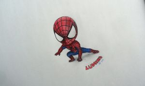 lil spidey by KrizzLumino