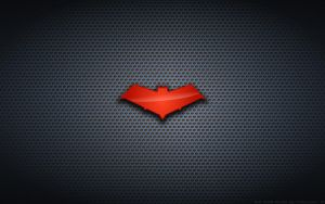 Wallpaper - Red Hood 'Bat' Logo by Kalangozilla
