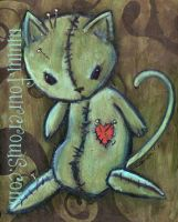voodoo kitty... by FourCrows