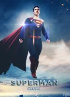 Superman CW TV Series Poster by Timetravel6000v2