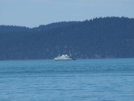 Ferry in the Distance by SarahRiddle