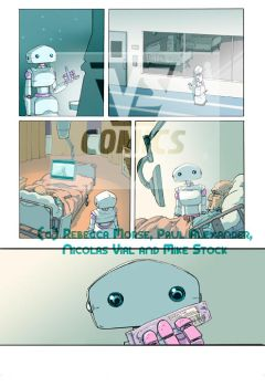 Preview page - Swan Song #01, 'Protocol' by Pika-la-Cynique