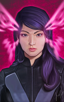 Psylocke by pretty-cool-huh