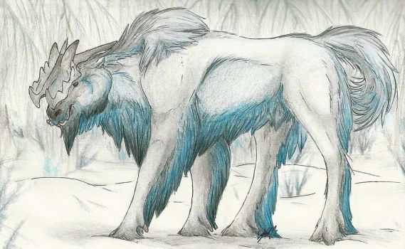 Creature Sketch: Ustrigal by SharkAttackHere