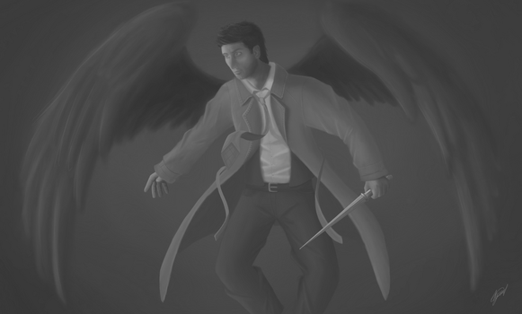 Castiel by mnms94
