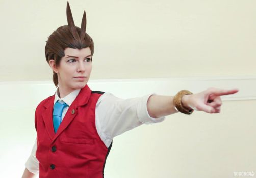 Apollo Justice: OBJECTION by Malindachan
