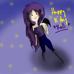 Happy Birthday Kalleily by Ask-PhoenixTheWitch