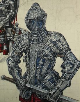Knights Detail by Legrande62