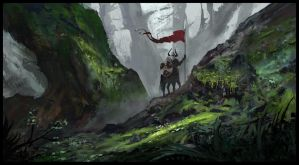The Warden of The Forests by Concept-Cube