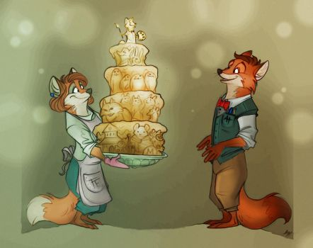 Happy Birthday, Fairytales Artist! by FortunataFox