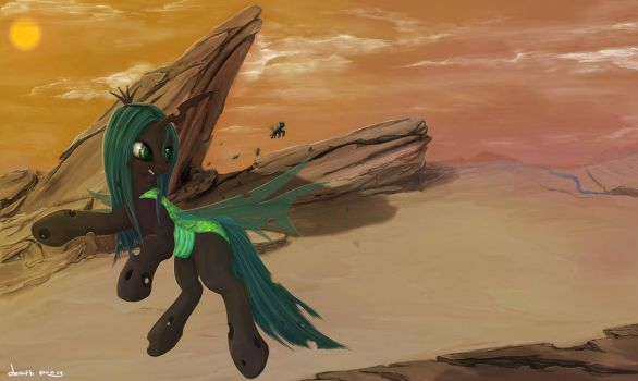 Queen Chrysalis by 1deathPony1