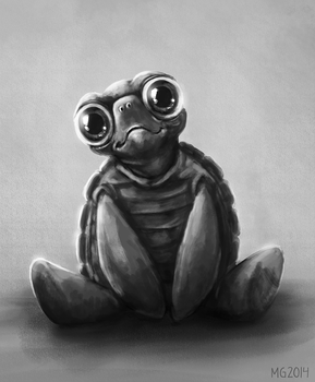 Turtle sketch by MariaGulland