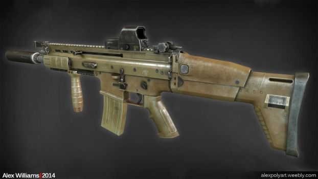 Contagion - SCAR-L by LivewireDeviant