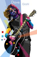 Dave Grohl 2 in WPAP by sangpendosa