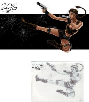 Color Practice - Lara Croft | Tomb Raider by RyanBrent