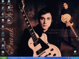 Frank Iero Wallpaper SP by Razorblade666