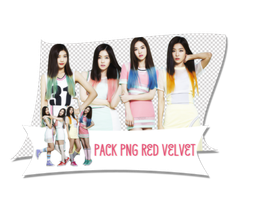 PACK PNG RED VELVET by rankagome52