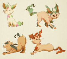 Day 4   Leafeon