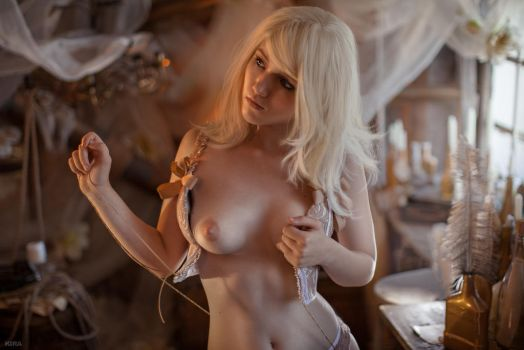 Nude witcher cosplay