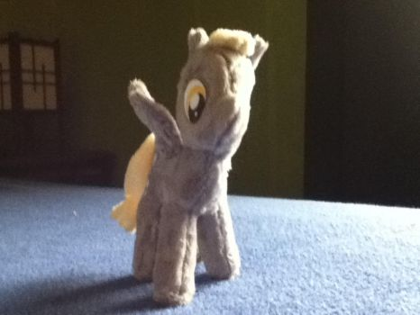 My little plushie (Derpy hooves) front by MollyFlutter