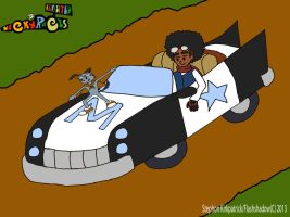 Wacky's Races Revisited: Shonnie's Excel Cruiser by Flashshadow
