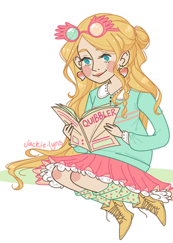 Luna Lovegood by Jackie-lyn