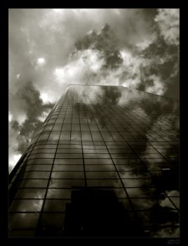 burning in clouds by noup