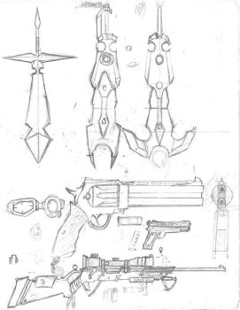 Weapon Designs by Lord-Gundam