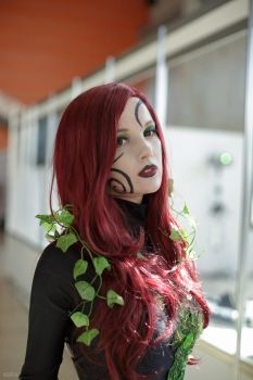Poison Ivy Cosplay by AkinaGasai