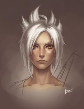 Riven Face tutorial by KNKL