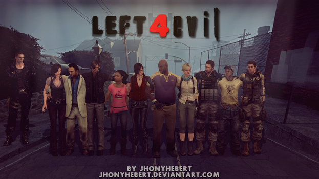 Left 4 Evil - Crossover by JhonyHebert