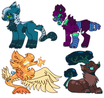 Wolf Adopts [OTA] (OPEN 1/4) by Thesheephead