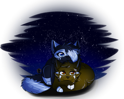 [YCH] Written In The Stars by SamanthaBabinski