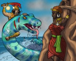 Perseus to the Rescue by DaBrandonSphere