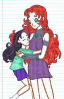 (Teen Titans) Mommy's little bumgorf. by gurl-luvs-sooshi