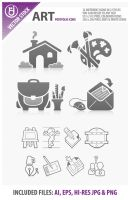 Vector Art Icons by rjDezigns
